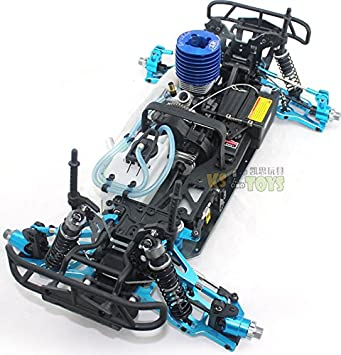 Amazon.com : 1/8 New Arrivals Carro De Controle Remoto A Gasolina Remote Control Cars Methanol Gasoline Engine Big Wheels 4WD RC Cars HW1075 : Baby