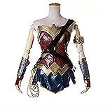 kayman Halloween Cosplay Movie Protagonist Wonder Woman Diana Combat Suit Women's Skirt Heroine Costume