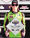AUTOGRAPHED 2013 Danica Patrick #10 GoDaddy Racing DAYTONA 500 POLE AWARD (Stewart-Haas Team) 8X10 Inch Signed Picture NASCAR Glossy Photo with COA