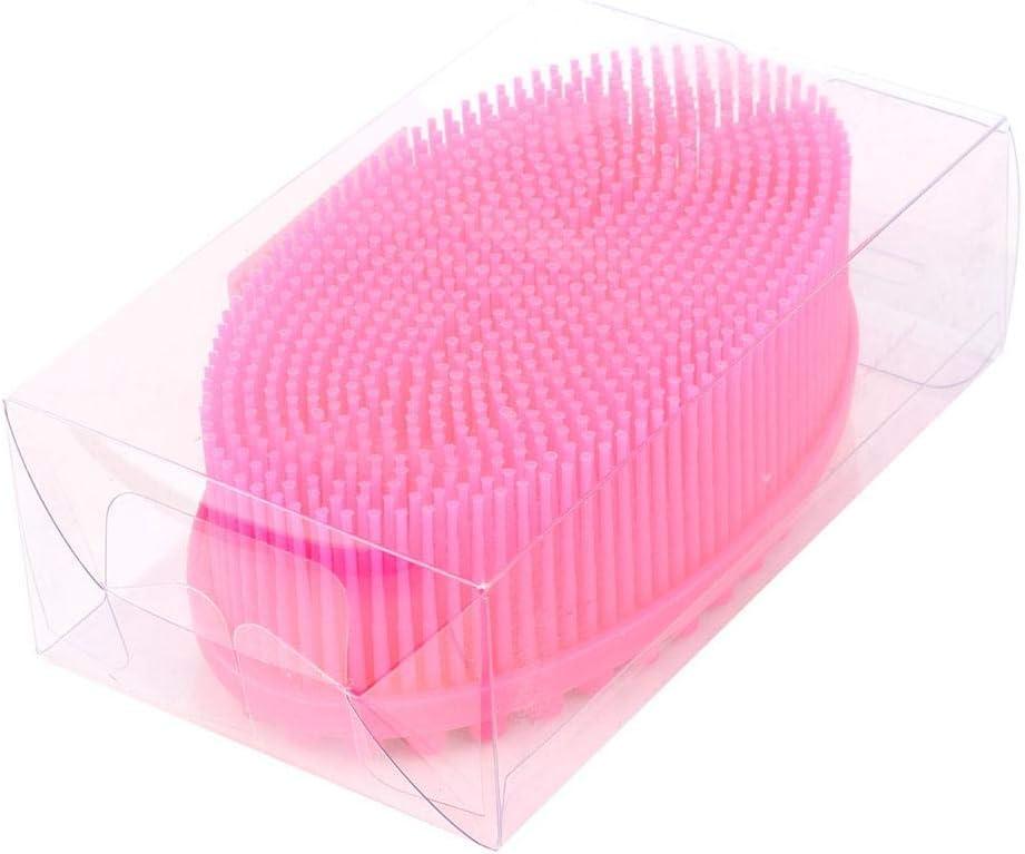 Alomejor Cepillo sensorial de Silicona para bebé Cepillo de Masaje para la Ducha de Silicona para el Cuerpo del bebé Lavadora de Cabello