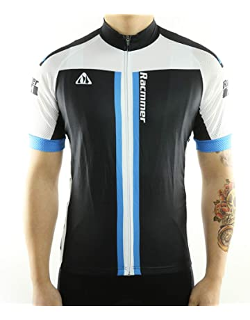 Racmmer Mens Breathable Short Sleeve Cycling Jersey Ultra-Light Cycling  Clothing 066bd3a71