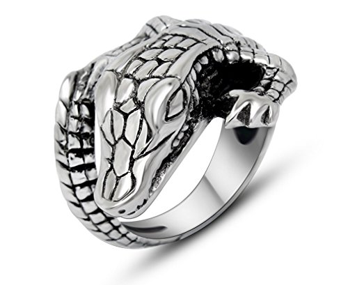 crocodile ring - 7