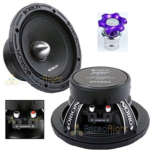 Mid 6.5 Speaker Range (Orion XTX654 6.5
