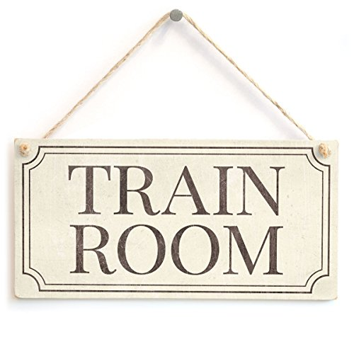 Meijiafei Train Room - Beautiful Traditional Style Hanging Sign for Train Room Door 10