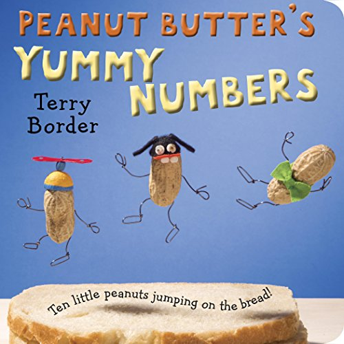 Peanut Butter's Yummy Numbers: Ten Little Peanuts Jumping on the Bread! - Border Bread