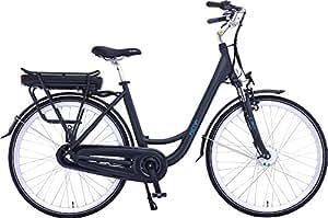 Bicicleta eléctrica de paseo modelo CT16008-F250BF cuadro de aluminio 6061/700C Zoom Suspension 700C con motor BAFANG 250W 36V motor frontal Batería Li-ion 37V13AH (PHYLION Cell) Liquid Crystal Display Cambio SHIMANO NEXUS 3 con velocidad 25km/h 1:1 potencia asistida mayor/igual 65km y peso neto de 22,5 kgs