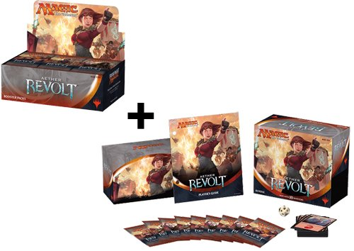 Aether-Revolt-Booster-Box-Bundle-Fat-Pack-COMBO-AER-MTG-Magic-The-Gathering