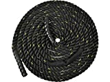 """Appizz Training 1.5"""" Poly Dacron 30' Battle Rope Exercise Workout Strength Undulation"""
