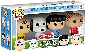 Funko Peanuts Funko POP! Minis Peanuts Exclusive Vinyl Figure 4 ...