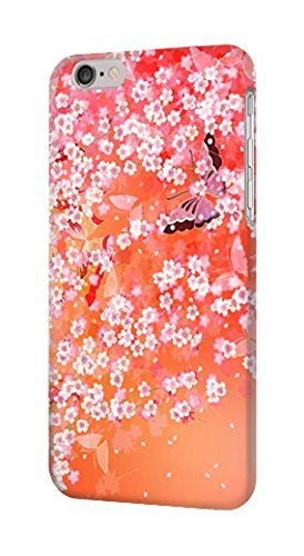 R2543 Japanese Kimono Style Flower Pattern Case Cover For IPHONE 6S ()