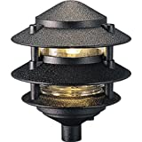 Progress Lighting P5219-31 Cast Aluminum Clear Glass Liner with 1/2-Inch NPS Threaded Fitting For P8667 or P8616 Installation, Black