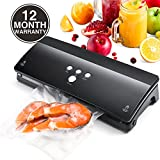 Titan Mall Vacuum Sealer Food Vacuum Sealer Machine Low Noise 4 Patterns Air Sealing Systems for Food Preservation