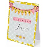 Sizzix Clear Acrylic Stamps Banners and Alphabet (6 Pack)
