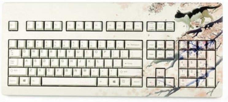 YCBHD teclado, diseño de dibujos animados, teclado ergonómico ...