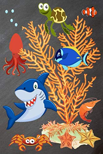 Sea Creatures Mileage Log Book: Deep Sea Creatures Animals Marine Life Mileage Log Book and Expenses Tracker For Taxes: Business Gas Miles Tracking ()