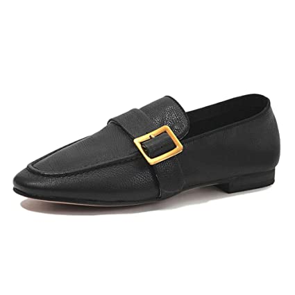 HWF Zapatos para mujer Mocasines De Mocasines De Boca Baja Para Mujeres De Primavera, Zapatos