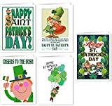 St Patrick's Day Assorted Card Pack - 15 St Patrick's Day Cards & Envelopes