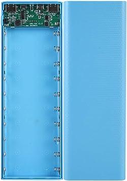 10x18650 caja de batería caja cargador DIY dual USB LCD Power Bank Shell: Amazon.es: Bricolaje y herramientas