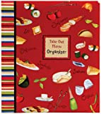 C.R. Gibson Deluxe Take Out Menu Organizer, International Chefs