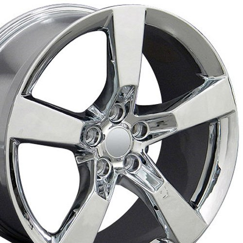 OE Wheels 20 Inch Fits Chevy Camaro SS Style CV11 Chrome 20x9 Rim