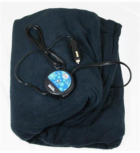 Comfy Cruise 12V Heated Travel Blanket Computers, Electronics, Office Supplies, Computing
