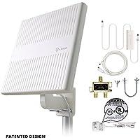 Antop 65 Miles Digital Amplified Outdoor RV/TV Antenna for Multiple Tvs