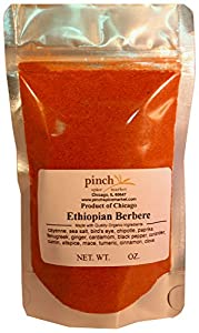 Pinch Spice Market, Ethiopian Berbere, 16 Ingredient Organic African Spice