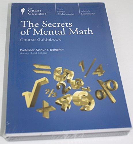Great Courses Number 1406 Secrets of Mental Math Transcript Book Course Guidebook & DVD Set