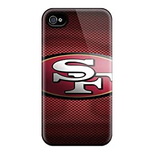Quality Leeler Case Cover With San Francisco 49ers Nice Appearance Compatible With Iphone 4/4s