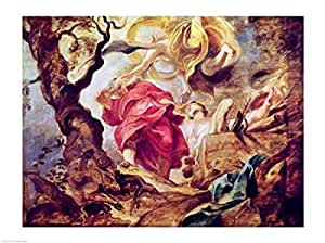 Peter Paul Rubens – El sacrificio de Isaac Artistica di Stampa (60,96 x 45,72 cm)