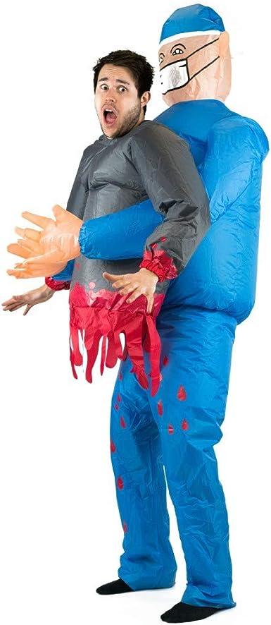 Amazon.com: Bodysocks - Disfraz hinchable para adulto: Clothing