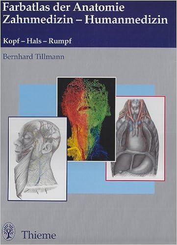 Anatomie Zahnmedizin. Paket.: Bernhard Tillmann, Karlheinz A ...