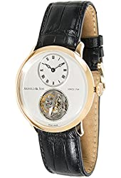 Arnold & Son Utte Tourbillon mechanical-hand-wind silver mens Watch 18.3.1.01 (Certified Pre-owned)