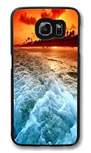 Burning Shore Custom Samsung Galaxy S6/Samsung S6 Case Cover Polycarbonate Black