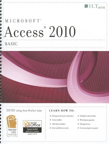 Access 2010: Basic (ILT)