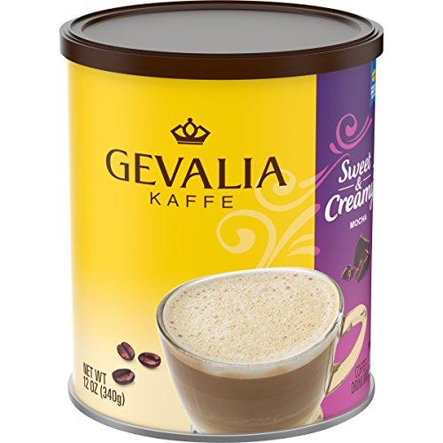 Gevalia Sweet & Creamy Mocha Coffee Mix (12 oz Tin) (Maker Cup Gevalia Two Coffee)