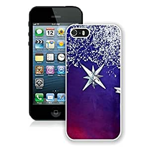 Hot Sell Design Iphone 5S Protective Case Merry Christmas iPhone 5 5S TPU Case 25 White