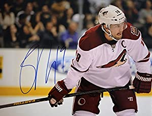 Signed Shane Doan Arizona Coyotes 11x14 Photo - Certified Autograph