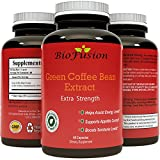 Pure Green Coffee Bean Extract Supplement - Best For Weight Loss & Appetite Suppressant - 800 mg with 50% Chlorogenic Acid + Best Energy Booster + Advanced Natural Potent Formula - 60 Capsules