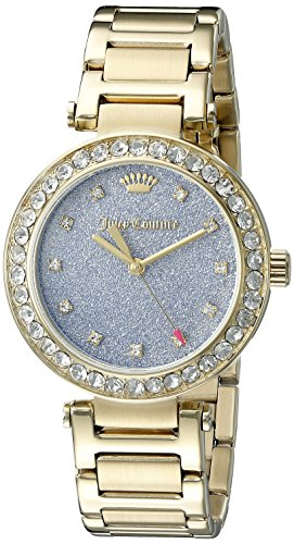 Juicy Couture Women's 1901328 Gold-Tone Bracelet Watch
