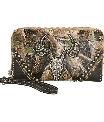 Montana West Deerhead Wristlet Wallet Style product image
