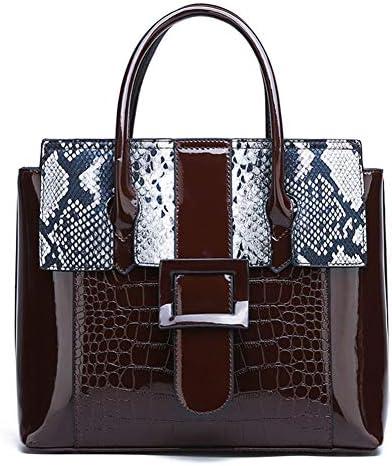 女性のファッションハンドバッグ、2019新しいジッパー大型PUショッピングバッグ、パーティーディナーバッグ、ホリデートラベルハンドバッグ-brown