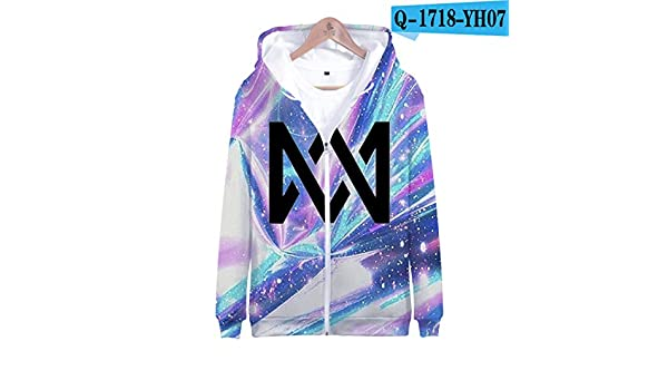 Amazon.com: WEEKEND SHOP Marcus &Martinus 3D Zipper Sweatshirt Oversized Pullover Hoodies Sweatshirt: Clothing