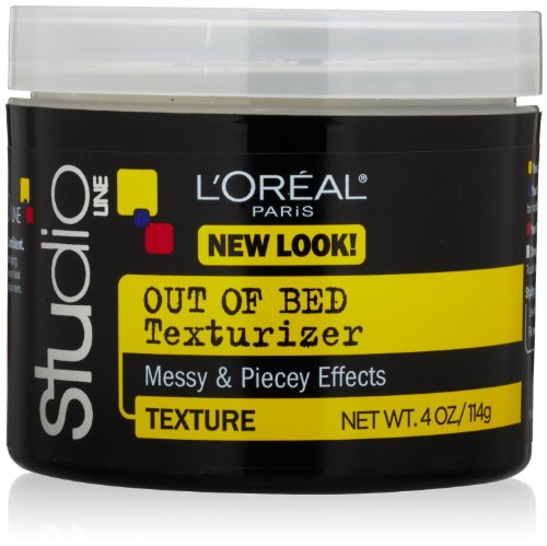 L'Oreal Paris Studio Line Texture and Control Unkempt Out of Bed Texturizer 4 Ounce (3 pack)