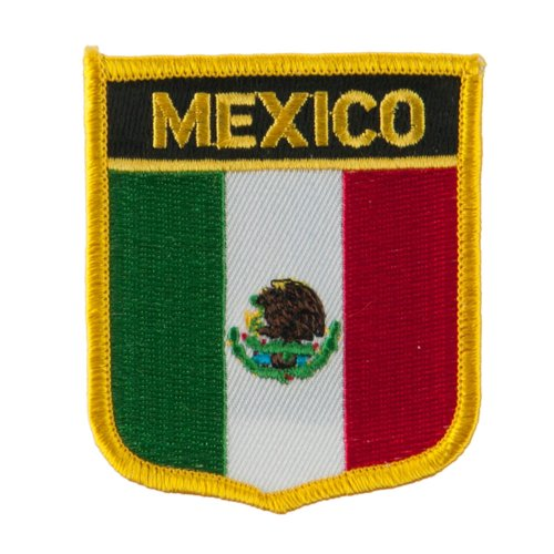 north south america flag embroidered