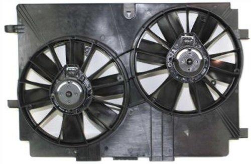 CPP Dual Cooling Fan for Pontiac Firebird, Chevrolet Camaro, Corvette GM3115141 ()