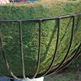 CASE/10 22'' ROUNDED BASKET GREEN LINER (not include Basket Planter)