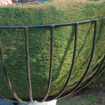 CASE/10 22'' ROUNDED BASKET GREEN LINER (not include Basket Planter)