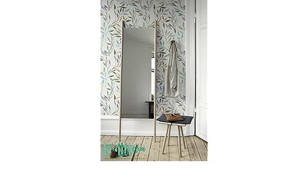 Extraíble Wallpaper/Peel and Stick/Self - Adhesivo Papel pintado//209, diseño de hojas de Debra Valencia sin costuras, 53 Cm wide by 243 Cm Tall: Amazon.es: Bricolaje y herramientas