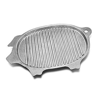 Wilton Armetale Gourmet Grillware Grilling Pan, Pig, 17-Inch